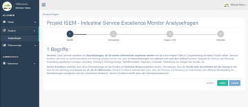 INDUSTRIAL SERVICE EXCELENCE SERVICE MONITOR