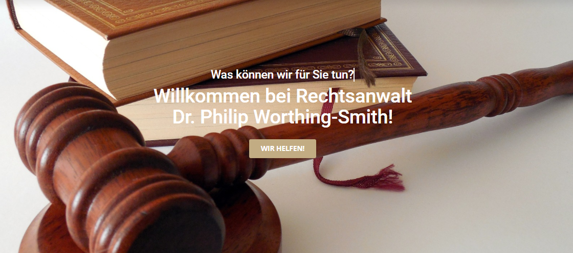 Philip Worthing Smith - Rechtanwalt